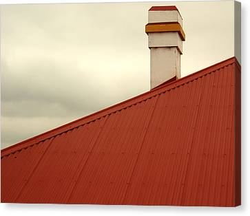 Red Roof Canvas Print by Kaleidoscopik Photography