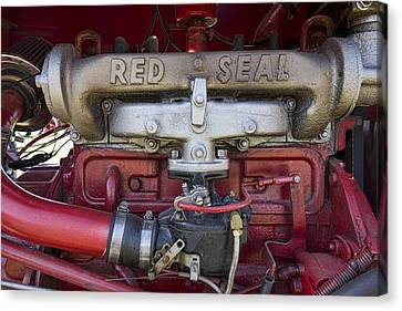Red Seal Canvas Print