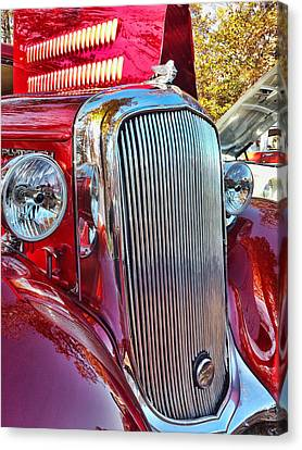 Red Shine Canvas Print
