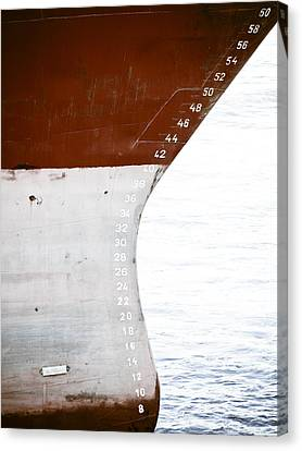 Red Ship Canvas Print by Frank Tschakert