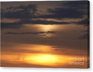 Red Sky - Gloaming Canvas Print by Michal Boubin