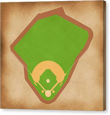 Red Sox Field Canvas Print by Carl Scallop