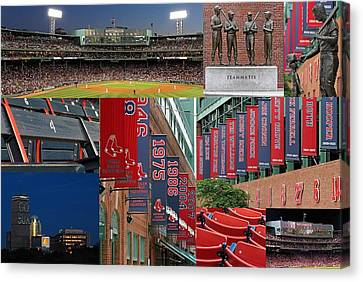 Red Sox Nation Canvas Print by Juergen Roth