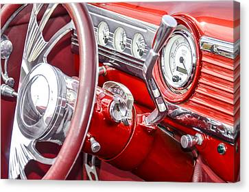 Red Speedo Canvas Print by Carolyn Marshall
