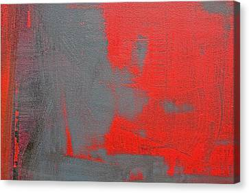 Red Square Dissected II C2010 Canvas Print by Paul Ashby