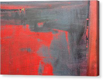 Red Square Dissected IIi  C2010 Canvas Print by Paul Ashby