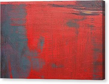 Red Square Dissected Viii  C2010 Canvas Print by Paul Ashby