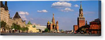 Historic Architecture Canvas Print - Red Square, Moscow, Russia by Panoramic Images