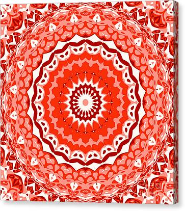 Red Star Canvas Print by Ron Brown