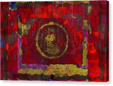 Red Canvas Print by Susan Leggett