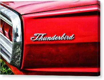 Red Thunderbird Canvas Print by Bill Cannon