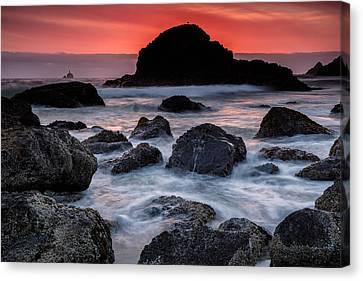 Red Tide Canvas Print by Rick Berk