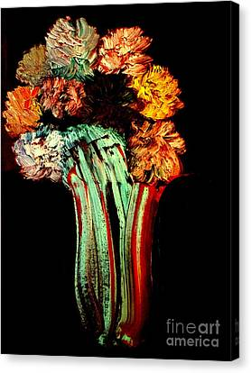 Red Vase Revisited Canvas Print