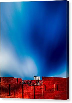 Red White And Blue Canvas Print by Bob Orsillo