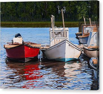 Red White And Blue Canvas Print by Rick McKinney