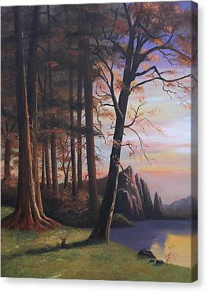 Redwood Forest II Canvas Print