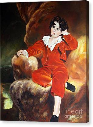 Redboy Canvas Print