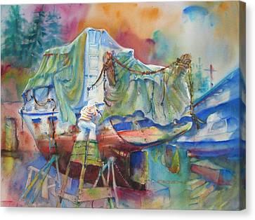 Redemption Ilwaco Wa Canvas Print