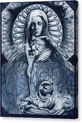 Redemption Canvas Print by Luis  Navarro