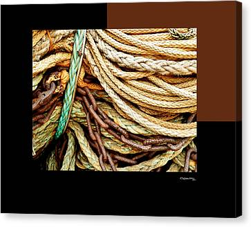 Redes 6 Canvas Print by Xoanxo Cespon