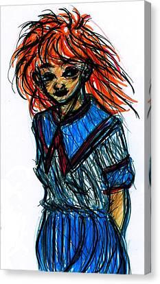 Redhead II Canvas Print by Rachel Scott