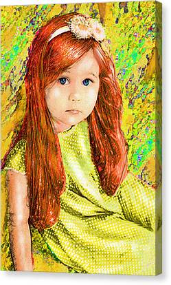 Redhead Canvas Print by Jane Schnetlage