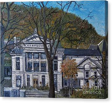 Redpath Museum Canvas Print by Reb Frost