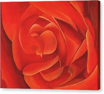 Redrose14-1 Canvas Print by William Killen