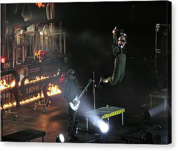 Red's Lead Singer Can Fly Canvas Print by Aaron Martens