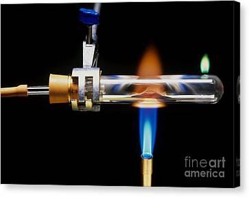 Reducing Copper Oxide Canvas Print