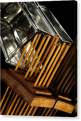 Reed Diffuser Canvas Print by Camille Lopez
