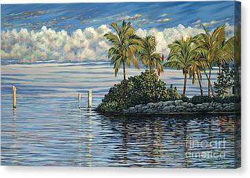 Reef Channel Canvas Print by Danielle  Perry