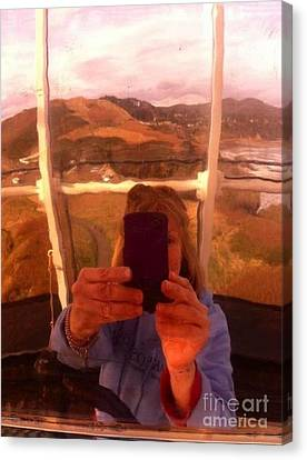 Reflect Back  Canvas Print by Susan Garren