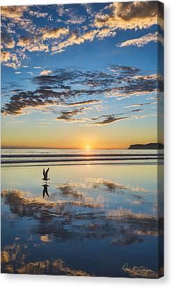 Reflected Flight Canvas Print