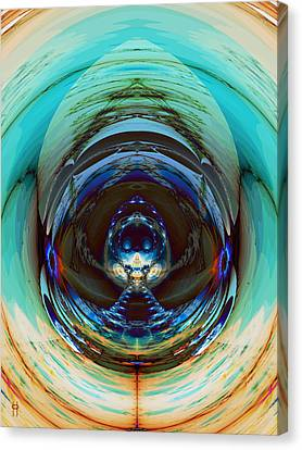 Reflected Canvas Print by Jim Pavelle