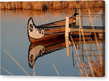 Reflected Canvas Print by Larry Trupp