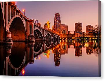 Reflecting Beauty Minneapolis Mn Canvas Print by RC Pics