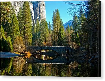 Reflecting On Yosemite Canvas Print
