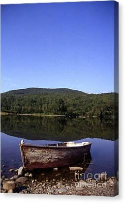 Reflection At Coffin Lake Canvas Print