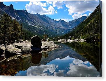Reflection In Mills Lake Canvas Print