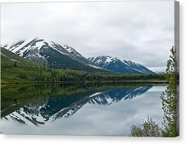 Reflection Montana  Canvas Print
