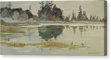 Reflection Canvas Print by John  Svenson