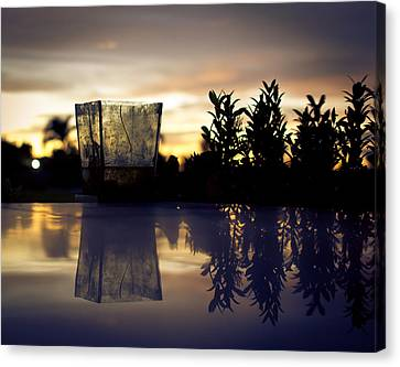 Reflection Canvas Print by Kingsley  Gicalde