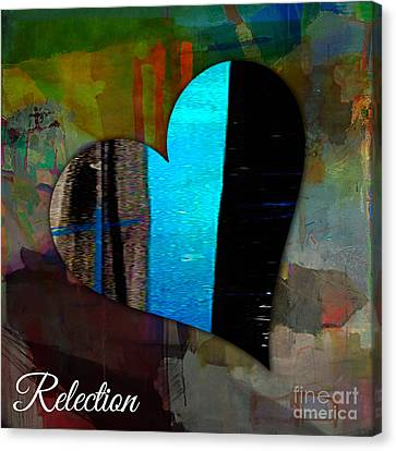 Reflection Canvas Print by Marvin Blaine