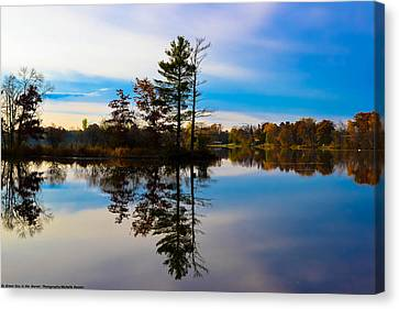 Reflection Canvas Print by Michelle and John Ressler