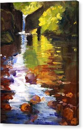 Wa Canvas Print - Reflection by Nancy Merkle