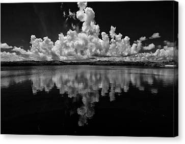 Reflection Of Clouds Canvas Print
