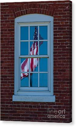 Canvas Print featuring the photograph Reflection Of Freedom by Patrick Shupert