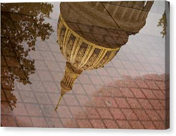 reflection of WV Canvas Print