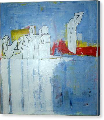 Reflection Canvas Print by Sanne Rosenmay